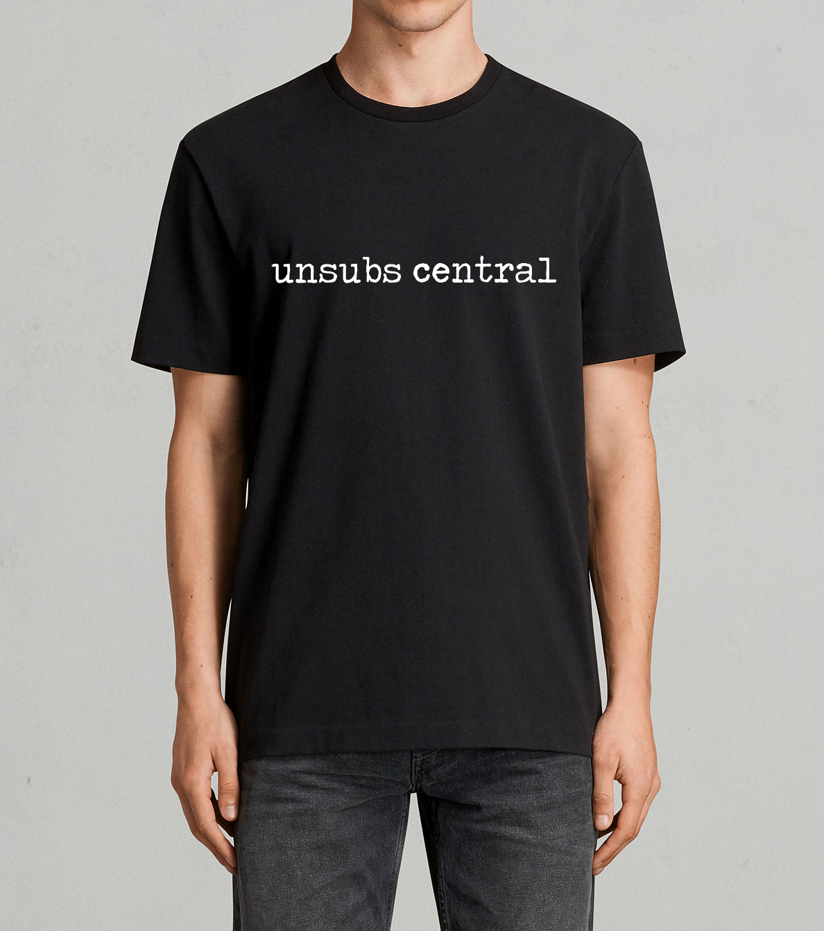 Unsubs Central shirt - logo II