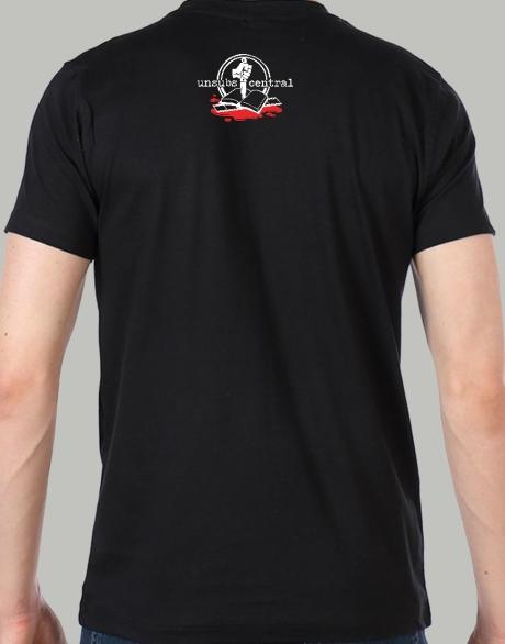 Unsubs Central shirt - logo II back